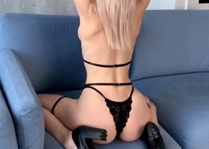 Hot girl Irina in a video
