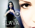 Chic brunette video - Slava